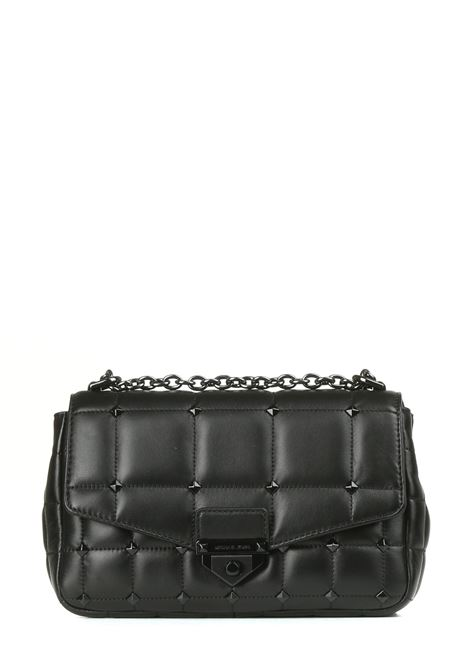 SOHO BAG IN QUILTED LEATHER BLACK WITH STUDS MICHAEL DI MICHAEL KORS |  | 30S1T1SL3L001BLACK
