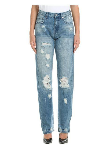 JEANS IN DENIM DI COTONE MICHAEL DI MICHAEL KORS | Jeans | MU1900XFAU970AUTHBLUE
