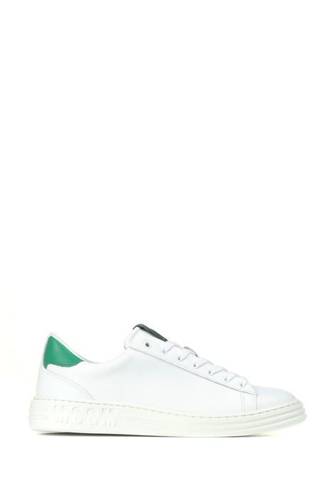 SNEAKERS IN PELLE BIANCHE MSGM | Sneakers | 3140MS50128036