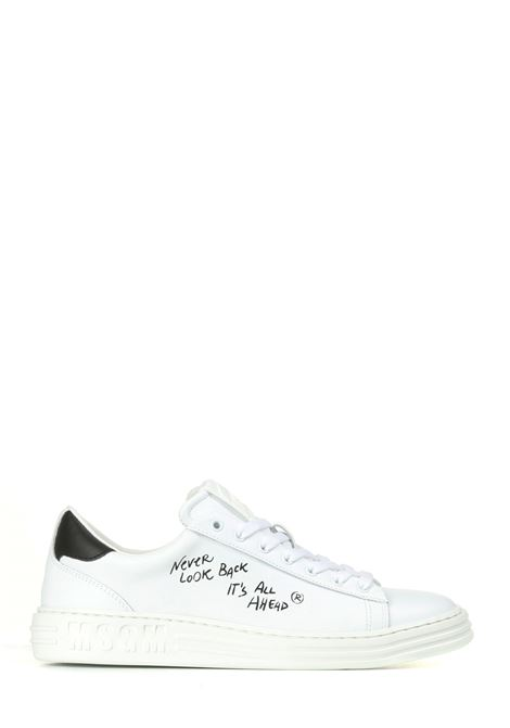 SNEAKERS IN PELLE BIANCHE MSGM | Sneakers | 3140MS50132399