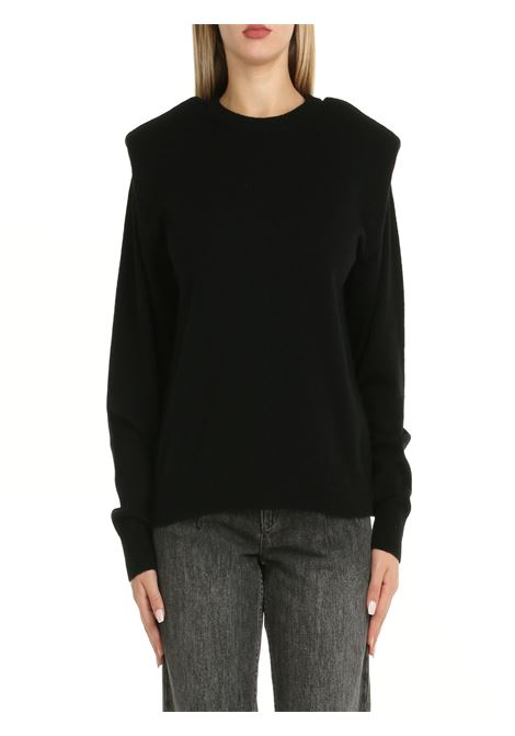 BLACK FAUX CASHMERE SWEATER Nude | Shirts | 1101004A09