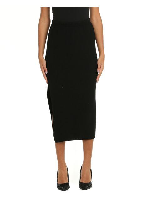 BLACK WOOL PENCIL SKIRT Nude | Skirts | 110105109