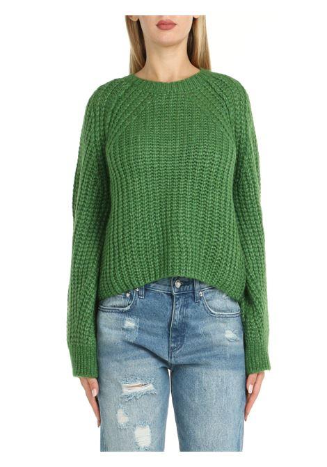 GREEN WOOL SWEATER Nude | Shirts | 1101083164