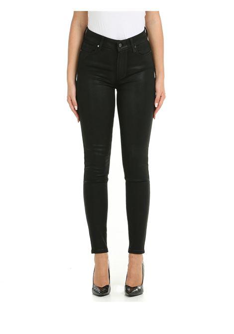 JEANS HOXTON ANKLE NERO SPALMATO PAIGE | Jeans | 17679013364NERO
