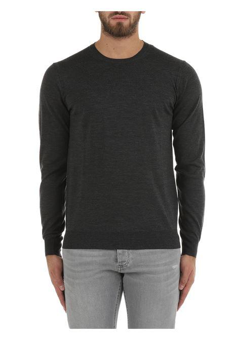 GRAY WOOL SWEATER PAOLO PECORA | Shirts | A001F0018996