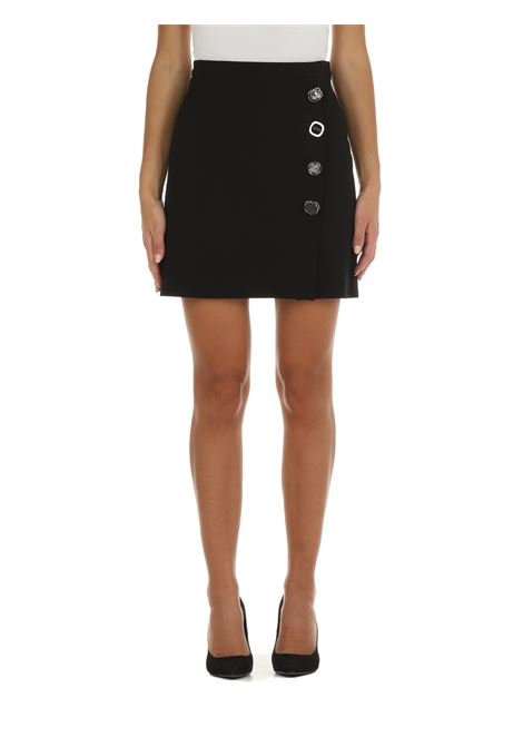 MONSANO MINISKIRT WITH BLACK BUTTONS PINKO | Skirts | MONSANO 1G16TW1739Z99