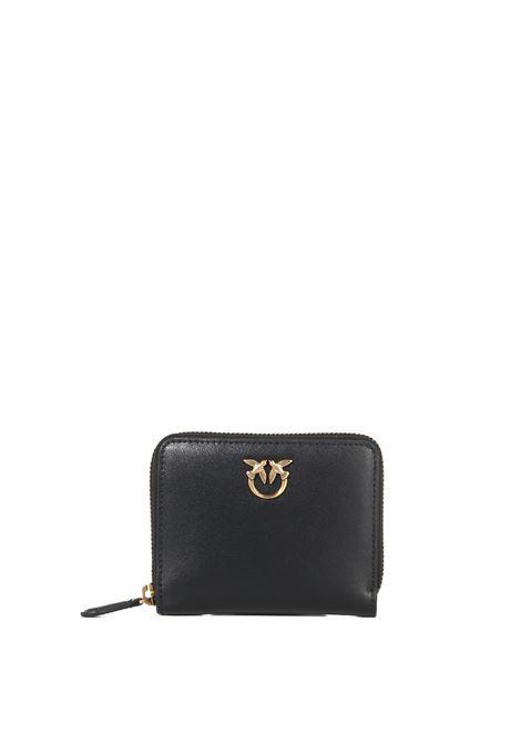 SMALL BLACK TAYLOR SIMPLY WALLET PINKO | Wallets | TAYLORSIMPLY 1P22EWY6XTZ99