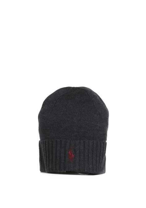 MERINO WOOL HAT WITH EMBROIDERED LOGO POLO RALPH LAUREN |  | 710761415004