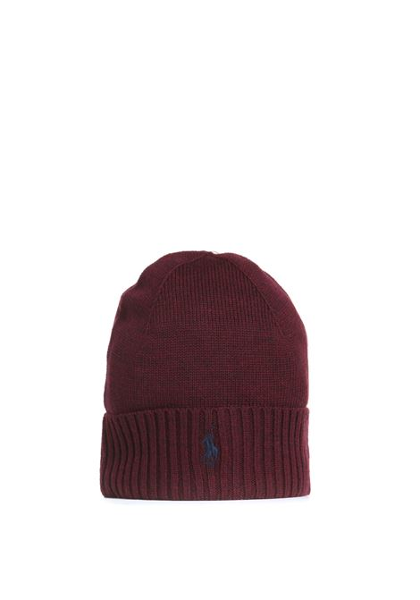 MERINO WOOL HAT WITH EMBROIDERED LOGO POLO RALPH LAUREN |  | 710761415011