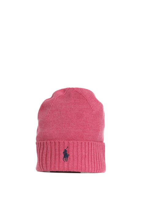 MERINO WOOL HAT WITH EMBROIDERED LOGO POLO RALPH LAUREN |  | 710761415013