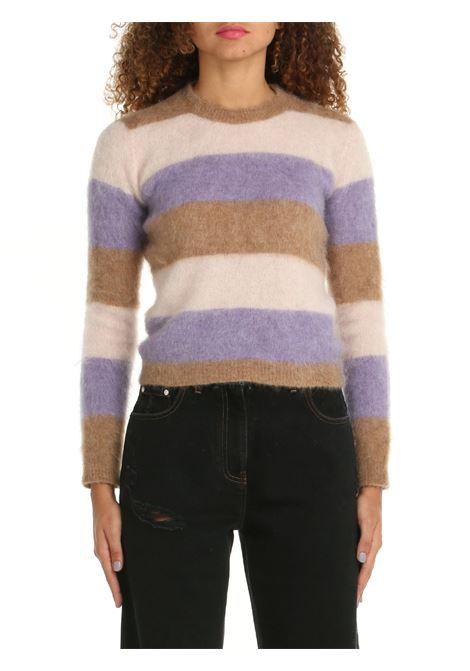 COLORED STRIPED SWEATER ROBERTO COLLINA | Shirts | F28001F2805