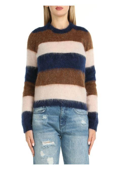 COLORED STRIPED SWEATER ROBERTO COLLINA | Shirts | F28001F2810