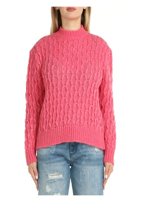 SWEATER IN BABY ALPACA AND PINK WOOL ROBERTO COLLINA | Shirts | F47501F4732