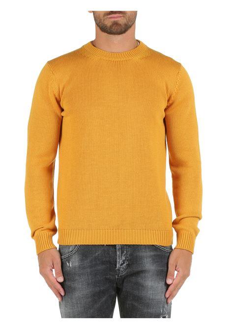 WOOL MUSTARD SWEATER ROBERTO COLLINA | Shirts | RF02001RF0243