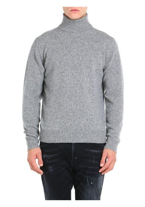HIGH NECK SWEATER IN MERINO WOOL AND CASHMERE ROBERTO COLLINA | Shirts | RF38003RF3818
