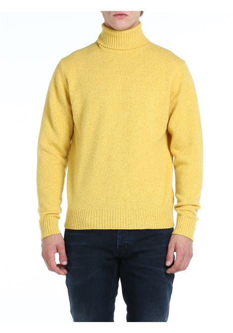 HIGH NECK SWEATER IN MERINO WOOL AND CASHMERE ROBERTO COLLINA | Shirts | RF38003RF3843