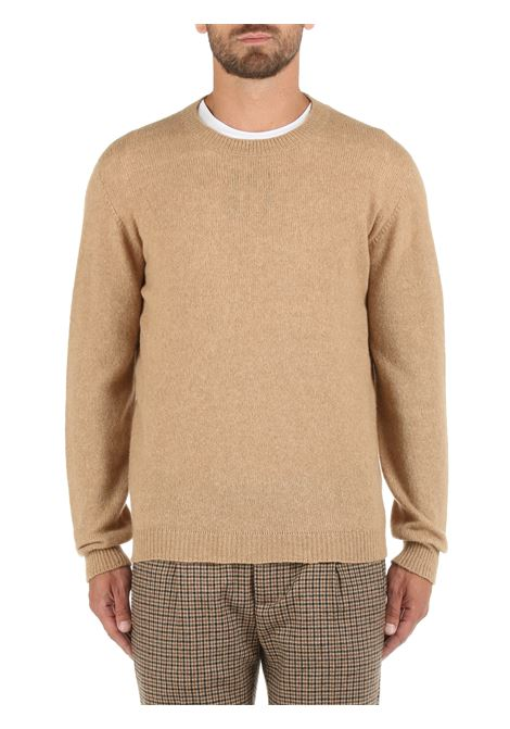 BEIGE SWEATER IN BABY CAMEL AND WOOL ROBERTO COLLINA | Shirts | RF40001RF4005