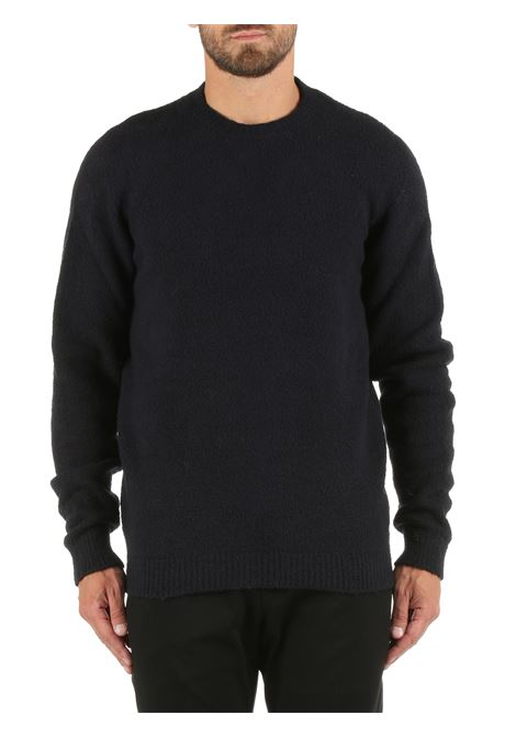 BLUE COTTON BLEND SWEATER ROBERTO COLLINA | Shirts | RF45001RF4510