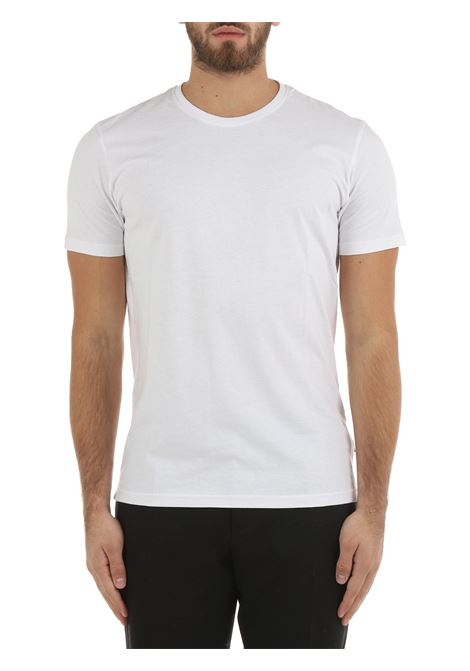 T-SHIRT BIANCA IN COTONE SOLID | T-shirt | 21103651790001