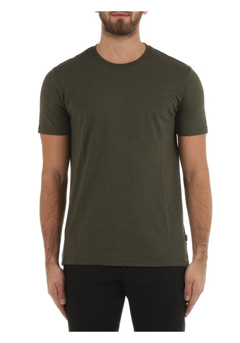 T-SHIRT VERDE IN COTONE SOLID | T-shirt | 211036517937971