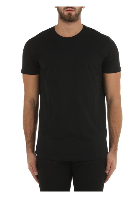 T-SHIRT NERA IN COTONE SOLID | T-shirt | 21104269799000