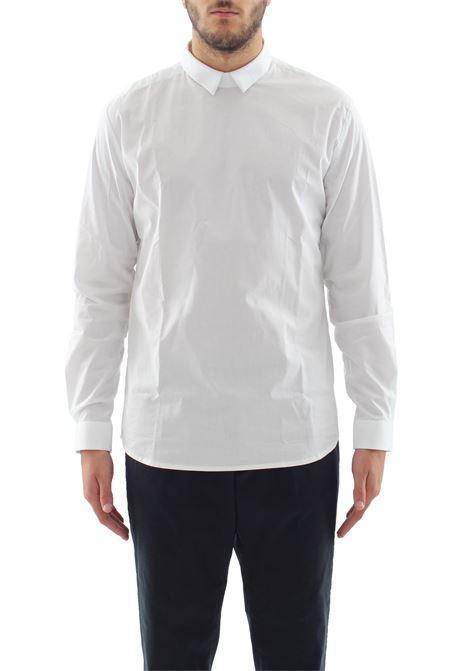 CAMICIA IN COTONE DANIELE ALESSANDRINI | Shirts | C6408R115136052