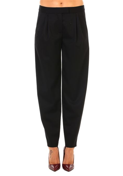 Moschino pantalone nero lana BOUTIQUE MOSCHINO | Pants | 03125820A0555
