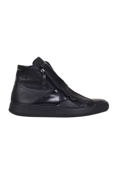 SNEAKERS IN PELLE Bruno bordese | Sneakers | C596NERO