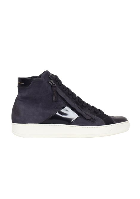 SNEAKERS IN PELLE SPAZZOLATA Bruno bordese | Sneakers | C600BLU