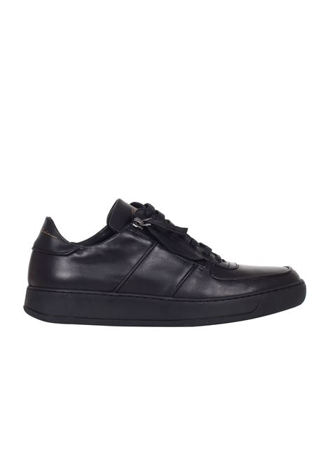 SNEAKERS IN PELLE Bruno bordese | Sneakers | C711NERO