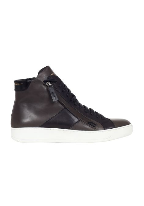SNEAKERS IN PELLE Bruno bordese | Sneakers | C713ANTRACITE
