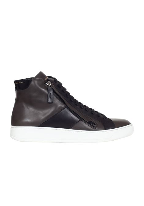 SNEAKERS IN PELLE Bruno bordese | Scarpe | C714ANTRACITE