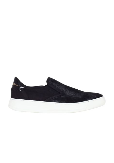 SLIP ON IN CAVALLINO Bruno bordese | Sneakers | C716NERO