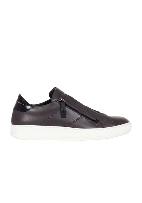 SNEAKERS IN PELLE Bruno bordese | Sneakers | C721ANTRACITE