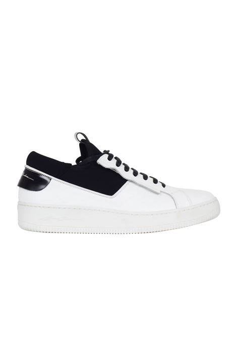 SNEAKERS IN PELLE MARTELLATA Bruno bordese | Sneakers | C898BIANCO