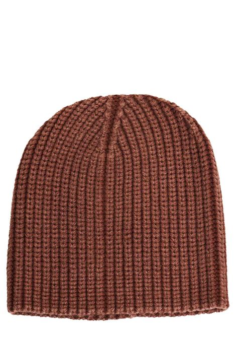 BROWN WOOL HAT ELEVENTY | Hats | 979CAP010MAG2201009