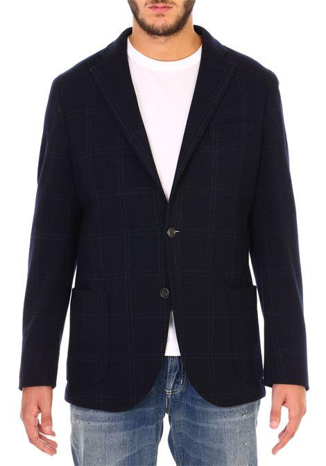 Giacca monopetto blu ELEVENTY | Jackets | 979JA3003JAC2202011