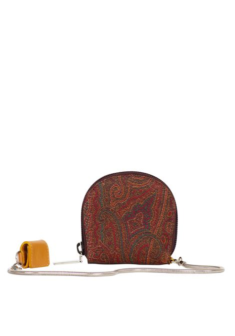 PORTA MONETE IN PELLE ETRO | Wallets | PO6914/9890FANTASIA