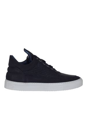 SCARPA IN PELLE E TELA FILLING PIECES | Sneakers | 101009210120BLU