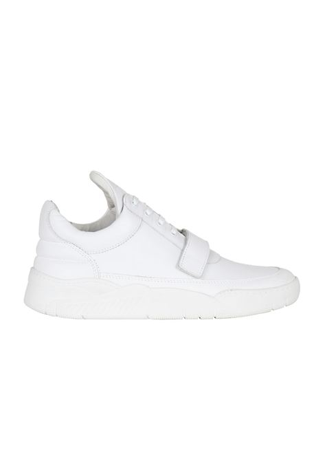SNEAKERS IN PELLE FILLING PIECES | Sneakers | 101019710970BIANCO