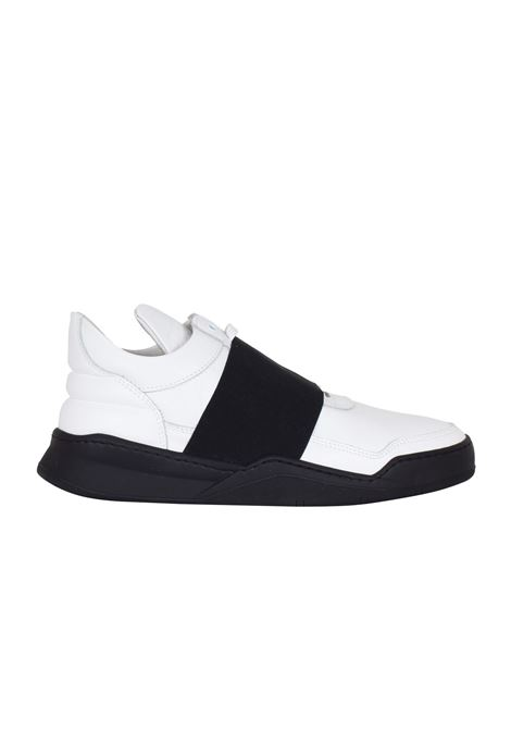 SCARPA IN PELLE FILLING PIECES | Sneakers | 101020110040BIANCO