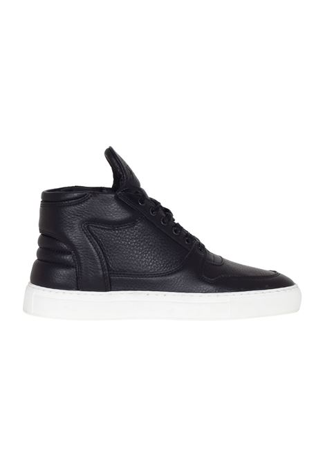 SNEAKERS IN PELLE FILLING PIECES | Sneakers | 104007310010NERO