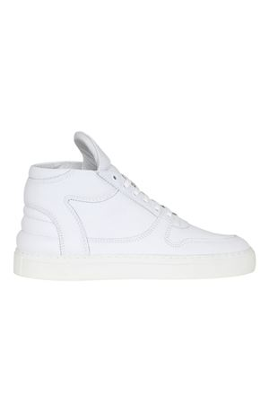 SNEAKERS IN PELLE FILLING PIECES | Sneakers | 104007310040BIANCO