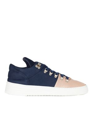 SNEAKERS IN PELLE FILLING PIECES | Sneakers | 105019210120BLU
