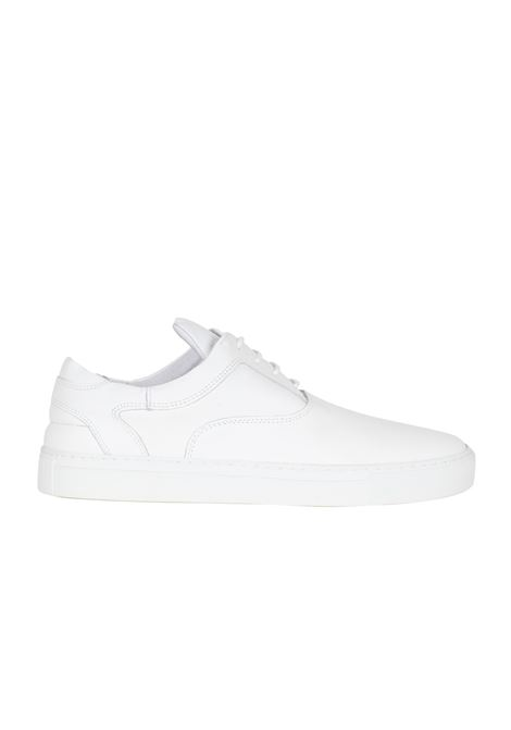 SNEAKERS IN PELLE FILLING PIECES | Sneakers | 110007010040BIANCO