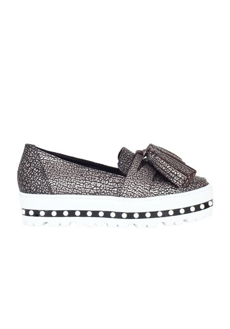 SLIP ON IN PELLE GREYMER | Shoes | 5058.010-01SILVER