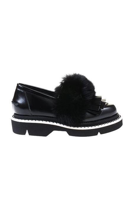 Greymer mocassino nero GREYMER | Shoes | 512.20NERO