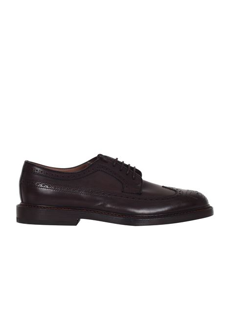 STRINGATA IN PELLE HENDERSON BARACCO | Shoes | 53212MORO