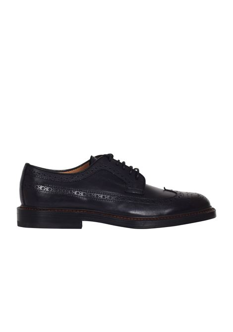 STRINGATA IN PELLE HENDERSON BARACCO | Shoes | 53212NERO