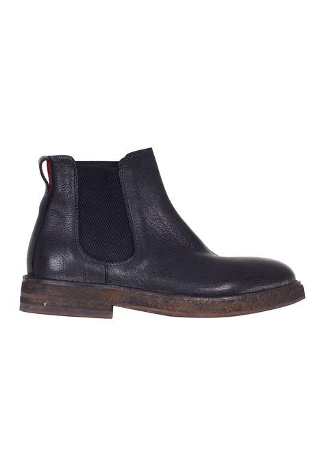 STIVALETTO IN PELLE NERA MOMA | Shoes | 725012ANERO
